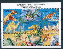 GEORGIEN Mi.Nr. 280-288 Prähistorische Tiere  -MNH - Georgien