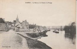51 - DAMERY - La Marne Et Chemin De Halage - Autres Communes