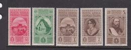 Italy-Aegean Islands Air Mail S14-18 1932 Garibaldi Mint Never Hinged And Hinged - Aegean
