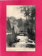 88 VOSGES, Environs De La Feuillée-Dorothée-Hôtel, Le Pont De La Vèche, Animée, 1908, (Hemeyer, Ehret) - France