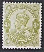 EFFIGIE DE GEORGE V 1911/26 - NEUF * - YT 87 - India (...-1947)