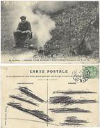 58 - En Foret - Coucou, Vieux Mendiant Morvandiau Déjeunant Au Coin De Son Feu  - Vieux Métier (avi) - France