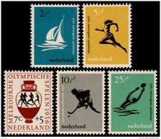 ~~~ Netherlands 1956 - Olympic Games Melbourne - NVPH 676/680 ** MNH ~~~ - Period 1949-1980 (Juliana)