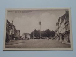 Zicht Op De Markt En Stadhuis ( Van Den Driessche - De Rudder ) Anno 19?? ( Zie Foto Voor Details ) !! - Lokeren