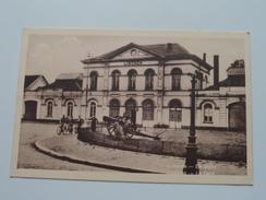 De Statie - La Gare ( P.J. Bruxelles ) Anno 19?? ( Zie Foto Voor Details ) !! - Lokeren