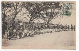 VIET NAM - SAIGON Une Compagnie De Tirailleurs Annamites - Vietnam