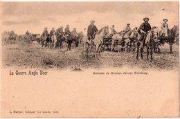 "LA GUERRE ANGLO-BOER 1899 ""Batterie De Maxims Devant Mafeking"" - Sonstige"