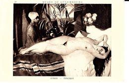 Peintures & Tableaux. Ottman, Odalisque. - Pittura & Quadri