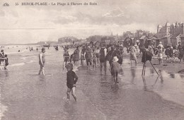 CPA Berck Plage, La Plage à L'heure Du Bain (pk37459) - Berck