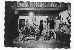 (RECTO / VERSO) AJACCIO EN 1958 - LA CASA CORSA - MUSEE DE COSTUME ET HABITAT - PETITS PLIS ANGLES - CPSM GF VOYAGEE - Ajaccio