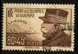 FRANCE - YT 454 - TIMBRE OBLITERE - Oblitérés