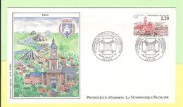 1er Jour 1987. 06 Juin. Cong Federations Lens. Cote 2013. 1.80 €. Ttb - FDC