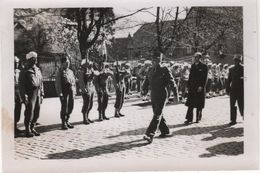 Photo Originale Militaria THANN 1945 Funérailles De Anatole Jacquot Maquis Résistance - Guerre, Militaire