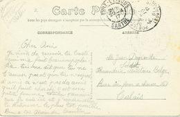 467/25 -  Carte-Vue Camp D' Auvours Postes Militaires Belges 4 En 1917 Vers CALAIS - Expéd. C.I.AX 3è Cie - WW I