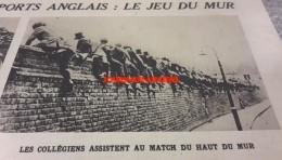 1920 SPORTS ANGLAIS LE JEU DU MUR - RUGBY À BÉZIERS - SADI LECOINTE - EDMOND JACQUELIN - LE STADE FRANÇAIS - Journaux - Quotidiens