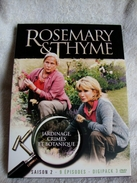 Dvd Zone 2 Rosemary & Thyme - Saison 2 (2004)   Vf+Vostfr - Séries Et Programmes TV