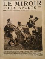 1922 FOOTBALL FINALE COUPE DE FRANCE - RED STAR RENNES  - CYCLISME PARIS BORDEAUX - BOXE CARPENTIER - AVIRON COURBEVOIE - Kranten