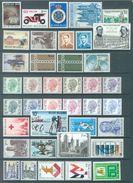 BELGIUM - 1971 - MNH/***LUXE -  JAAR ANNEE YEAR 1971 - QUOTATION 24.00 EUR FACIALE 327.75 BEF  - Lot 15759 - Belgique