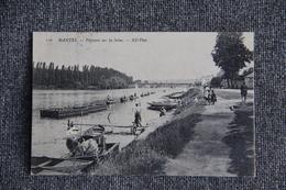 MANTES - Pêcheurs Sur La Seine - Mantes La Ville