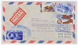 Mexiko (003017) R- Brief Express Gelaufen Nach Kirchzarten (Deutschland) 1977 - Mexico