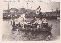 Photo Originale Rene Havet  Cherbourg Aviation Maritime Fete De La Mer 1930 - Lieux