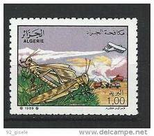 "Algerie YT 953 "" Criquet Pelerin "" 1989 Neuf** - Algerije (1962-...)"