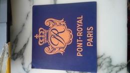 Étiquettes Hôtel Restaurant Paris Hôtel Pont Royal - Hotel Labels