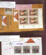 0639: Zwei Nachnahmebelege Aus 1992 - 1945-.... 2ème République