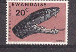 Rwanda MNH Serpent. - Reptiles & Batraciens