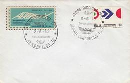 COVER 2 6 1970. AEROPHILEX 70. KONGRES FISA - Italia