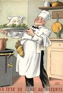 RECETTE SERIE NOS PLATS RÉGIONAUX N° 1418 H ILLUSTRATEUR JEAN PARIS LA TETE DE VEAU AU NATUREL   ED BARRE & DAYEZ - Recipes (cooking)