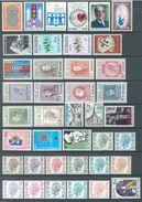 BELGIUM - 1972 - MNH/***LUXE -  JAAR ANNEE YEAR 1972  WITH BOOKLETS - QUOTATION 62.75 EUR - Lot 15760 - Belgique