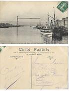 76 - Rouen - Quai D Ela Bourse Et Le Pont Transbordeur  (avi) - Rouen