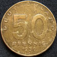 East Germany 50 Pfennig 1950 A - [ 6] 1949-1990 : GDR - German Dem. Rep.