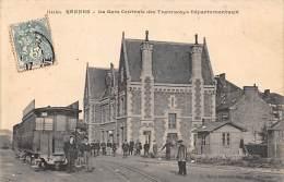 Rennes     35      Gare  Des Tramways Départementaux                (voir Scan) - Rennes