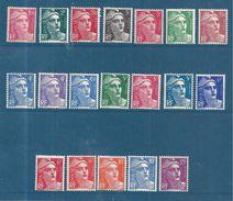 France Marianne De Gandon  N°712 A 724 Série Complète Neuf ** Parfait - 1945-54 Marianne De Gandon