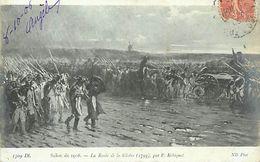 A-17- 8266 : SALON DE PARIS. 1906.  LA ROUTE DE LA GLOIRE EN 1793 PAR P. ROBIQUET - Pintura & Cuadros