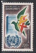 DAHOMEY AERIEN N°20 N* - Benin – Dahomey (1960-...)