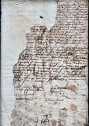 C1650 Document With What Appear To Be Several Signatures.  Ref 0372 - Documents Historiques