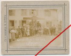 Original Foto - 31.5.1903 - Grandvillars - Restaurant - Grandvillars