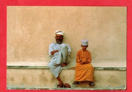 Asie Oman Arabes D ' Oman   ( Format 10,5 X 15 ) - Oman