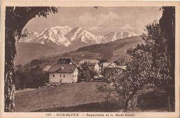 167 COMBLOUX BASSEVILLE ET LE MONT BLANC - Combloux