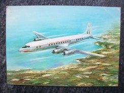 DOUGLAS DC6  SAM Societa Aerea Mediterranea  Compagnia Italiana Disegno Di FIORE - 1946-....: Moderne