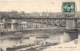 --- - 29 ---- BREST  Le Grand Pont Tournant - TTB - Brest