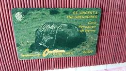 Phonecard Demo Without Control Number St-Vincent & The Grenadines Rare - San Vicente Y Las Granadinas