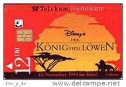 Deutschland - Germany - S 46/94 Disney König Der Löwen 2 - King Of The Lion - Germany