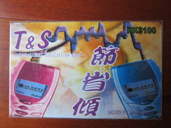 HK Sun Telecom Ltd. Prepaid Phonecard,Mobile,used - Hong Kong