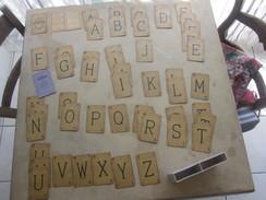Cartes Jeu De Lettres LEXICON Miro 1937 Avec Carnet De La Règle Du Jeu Et Boite D'origine(complet 51+3 Cartes) - Cartes à Jouer