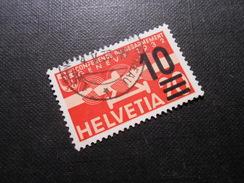 CH ZNr.21  10a.20C  Flugpost  1935/38  Z CHF 3.00 - Poste Aérienne