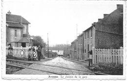 BRAIVES (4260) AVENNES Le Chemin De La Gare ( Passage A Niveau ) - Braives